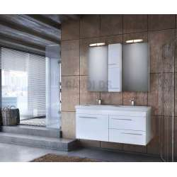 Долен шкаф за баня Status 120 White 1