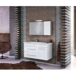 Долен шкаф за баня Status 100 White 1