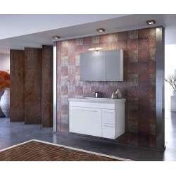 Долен шкаф за баня Status 85 White 2
