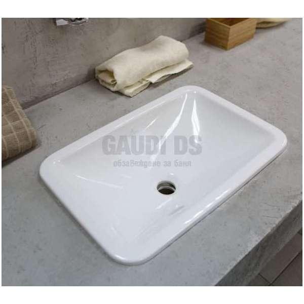Villeroy & Boch Loop & Friends 60х40.5 см мивка за вграждане 61450001