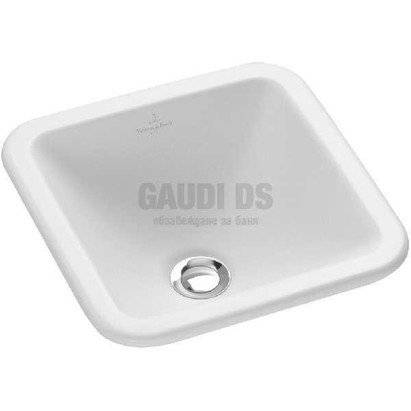 Villeroy & Boch Loop & Friends 45х45 см мивка за вграждане 61562001