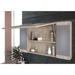 Комплект Magnolia 100 Beige MDF огледален горен шкаф 1