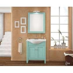 Комплект Faethon 65 Green долен с огледало, масив komplekt-faethon-65-green
