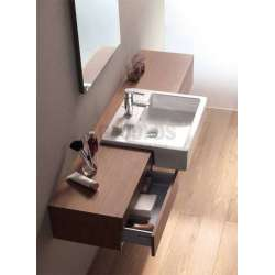 Villeroy & Boch Memento 55х42.5 см полу-вградена мивка върху плот 2