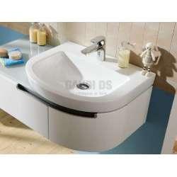 Villeroy & Boch Subway 2,0 60х49см овална мивка за свободен монтаж 7114F001
