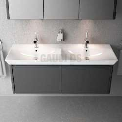 Villeroy & Boch Vivia 130х49см двойна мивка за свободен монтаж 4143D101