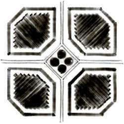 Гранитогрес Octogono Variette Sombra G156 20x20