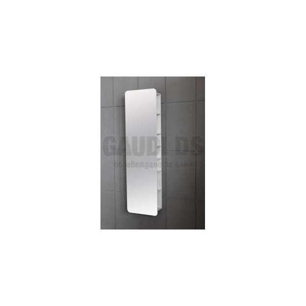 Колона PVC окачена с рафтчета и огледална врата ICP 4517