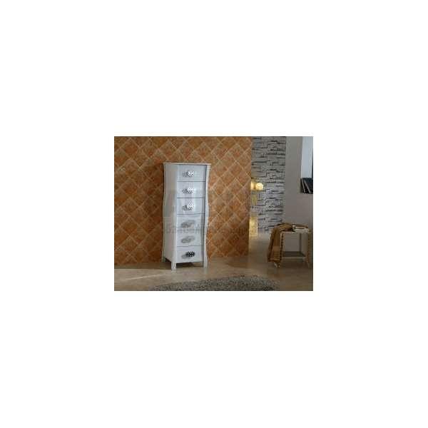 Колона PVC ретро с шест чекмеджета ICP 4614 W