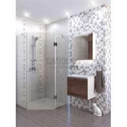 Комплект Манхатън PVC, огледален горен шкаф komplekt-mankhatn-pvc-ogledalen