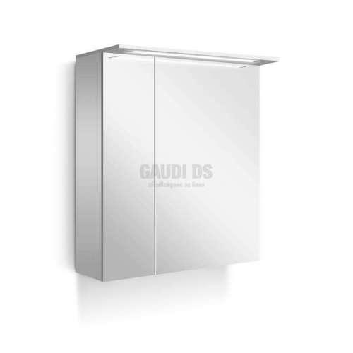 Горен Nice PVC 65 см с огледални врати, Led лента