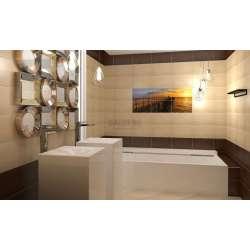 Mario Brown 25x40 плочки за баня