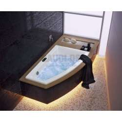 Асиметрична вана Kolo Clarissa 160х100 см- дясна 1