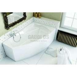 Асиметрична вана Kolo Clarissa 160х100 см- дясна XWA0860