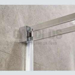 Душ параван New 120х190см с прозрачно стъкло 1