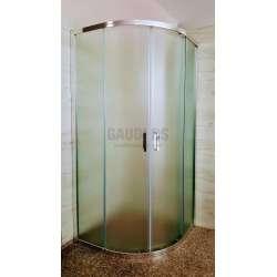Овална Easy 100х100х190 с матирано стъкло GDS_C_Easy100100190