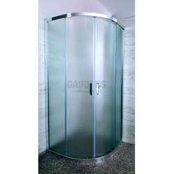 Овална Easy 90х90х190 с матирано стъкло GDS_C_Easy9090190mat