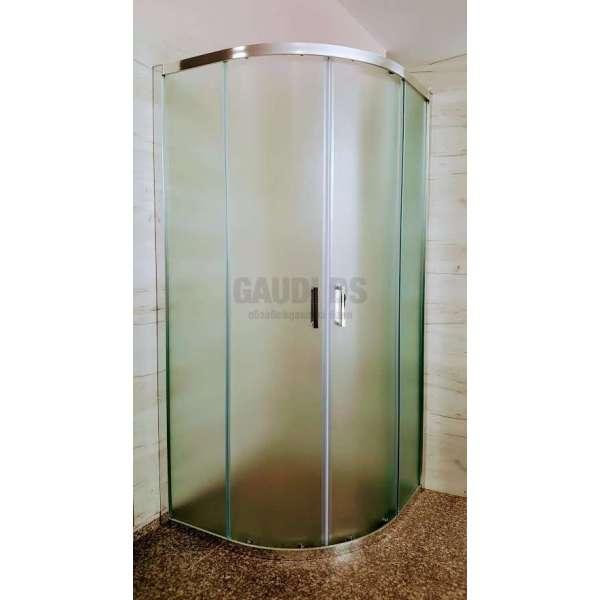 Овална Easy 80х80х190 с матирано стъкло GDS_C_Easy8080190mat