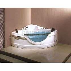Двойна ъглова хидромасажна вана 150х150х65 см