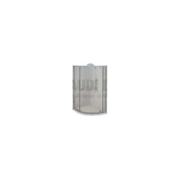 Овална 70х90х185 прозрачно стъкло GDSSANT_Т790С