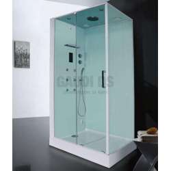 Парна душ кабина Wellis Monza 120x90x220 WC00353