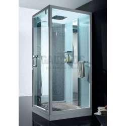 Парна душ кабина Wellis Focus 100x100x220 WC00365