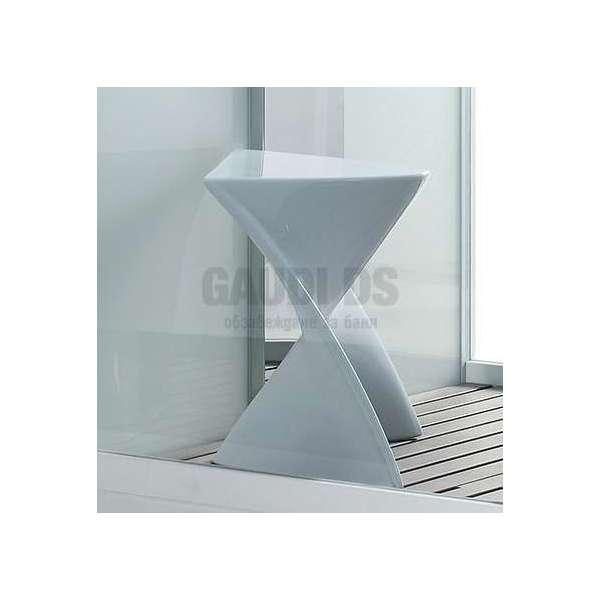 Бяло акрилно столче Seat EE00215