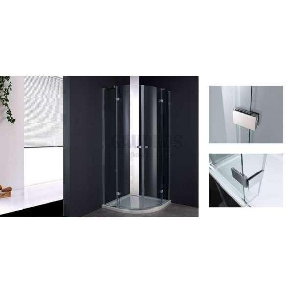 Овална душ кабина Wellis Arno 90x90 WC00402