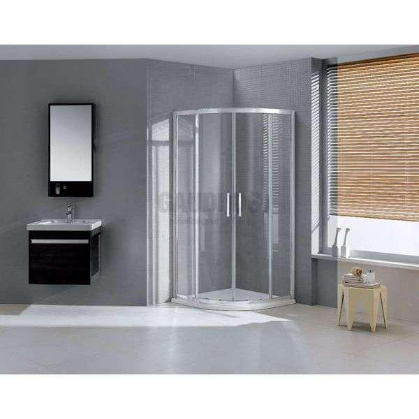 Овална душ кабина Wellis Aquarius 80 - 80x80 WC00320