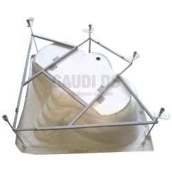 Метална опора за асиметрични вани Аугуста и Корона GDSSANF5400