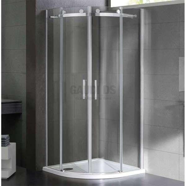 Овална душ кабина Wellis Virgo 90x90 WC00324