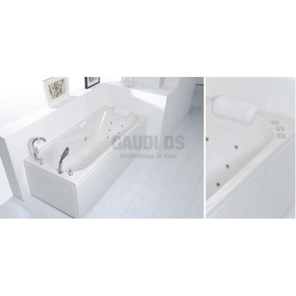 Wellis Lizzi E-Plus™ хидромасажна вана 160x75 см WK00019-4