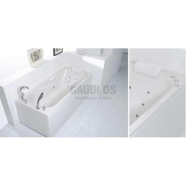 Wellis Lizzi E-Max™ хидромасажна вана 160x75 см WK00019-7