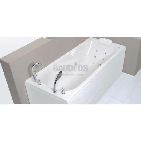 Wellis Lizzi Hydro™ хидромасажна вана 170x75 см WK00020-2