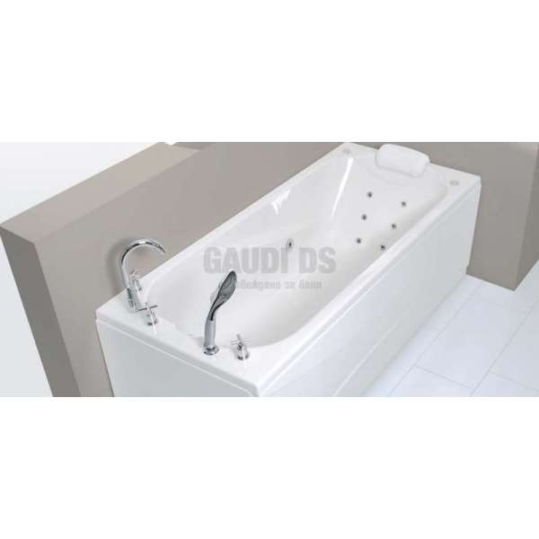Wellis Lizzi E-Max™ хидромасажна вана 170x75 см WK00020-7