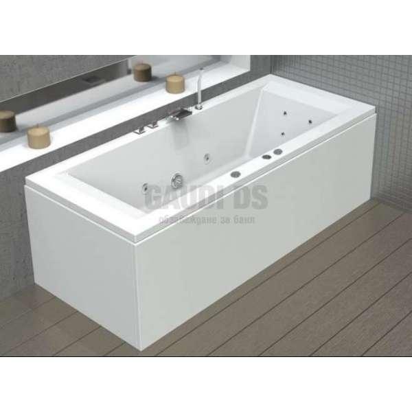 Wellis Titano Hydro™ хидромасажна вана 180x80 см WK00042-2