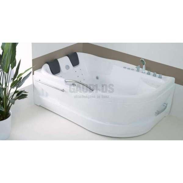 Wellis Dublo E-Plus™ хидромасажна вана 180x130 см WK00005-4