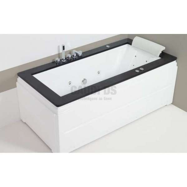 Wellis Nera E-Drive™ хидромасажна вана 185x90 см WK00008-6
