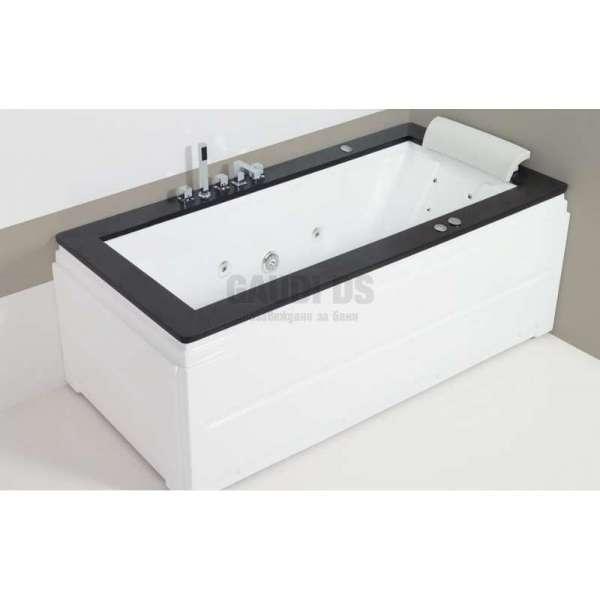 Wellis Nera E-Max™ хидромасажна вана 185x90 см WK00008-8