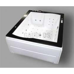 Wellis Nera Maxi E-Max™ хидромасажна вана 185х150x72,5 2
