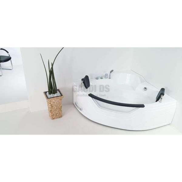 Wellis Milan E-Plus™ ъглова хидромасажна вана 155x155x55 WK00013-5