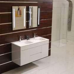 Каменен двоен умивалник за мебел 120x46 gdsicc 38131