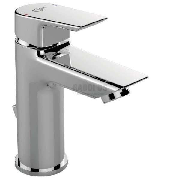 TESI стоящ смесител за мивка с метален изпразнител A6557