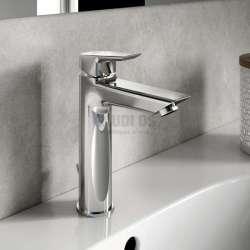 TESI стоящ смесител за мивка с метален изпразнител GRANDE A6563
