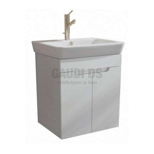 Caserta долен 55 см с врати, включена мивка AR 1055 R2