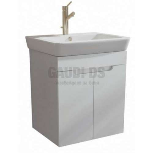 Caserta долен 60 см с врати, включена мивка