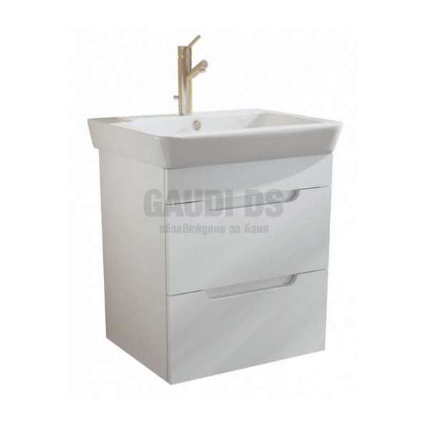 Caserta долен 50 см с чекмеджета и мивка AR 1050 R