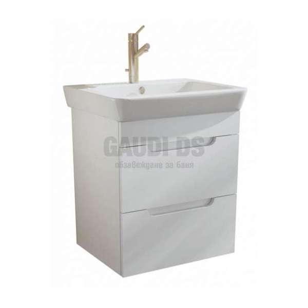 Caserta долен 55 см с чекмеджета и мивка AR 1055 R
