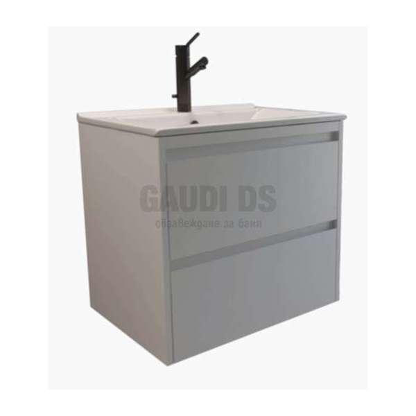 Beranjena долен 55см, чекмеджета, мивка Linea AR 055 F