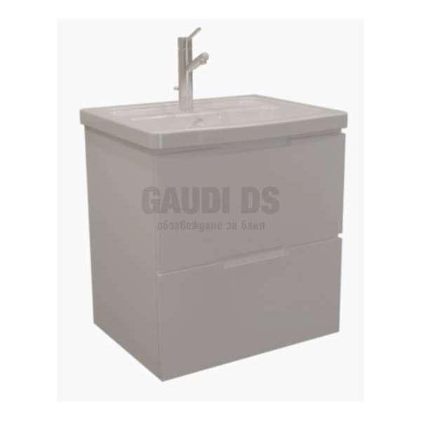 Soft долен 57 см с чекмеджета, мивка Pro AR 4057 B